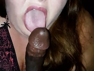 White Bbw Sucking That Bbc 2