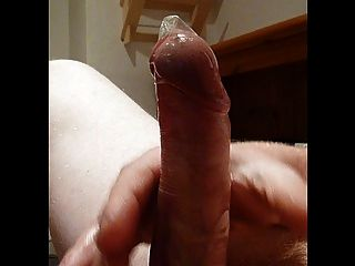 Cumming With Condom