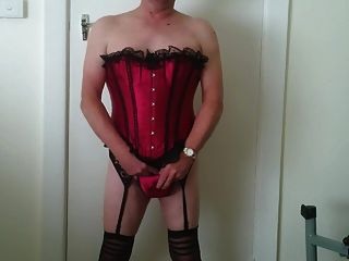 The Hot Red Corset