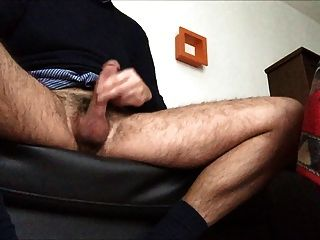 Jerking On The Sofa