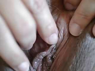 Close Up Clit Masturbation