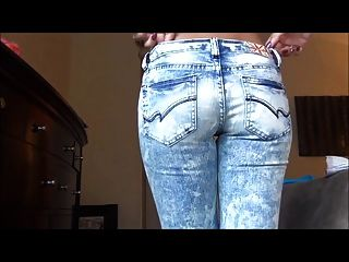 Janessa Brazil - Trying On Jeans