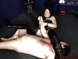 Cbt Mistress Cheyenne Shows Off Ballbusting Moves