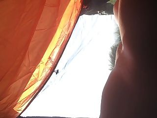 Naked Camping Wank With Voyeurs 2