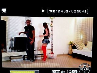 Julie Skyhigh Bitch  Red Overknee Boots Fucked By Black Guy