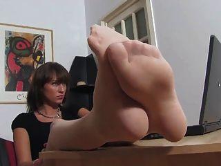 Feet In Stockings