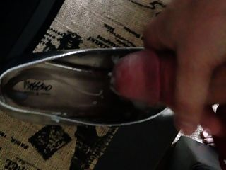 Cumming On Cumslut Barbies Silver Heels