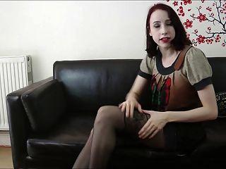 Girl With Amazing Legs