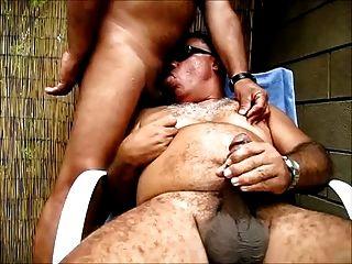 Madura Borracha en un Gangbang Brutal Porno
