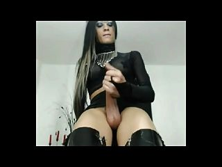 Domina Wanking Her Xxl Cock