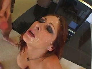 Tiffany Mynx Covered In Jizz
