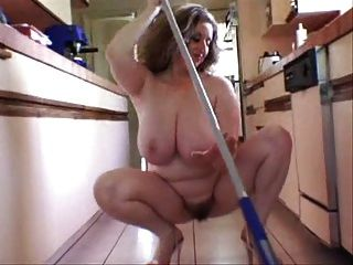 Nice Hairy Bush Cleaning