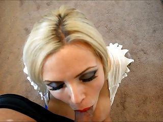 Nina: Fake Tit Cocksucker