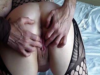 Mature Ass & Pussy Massage