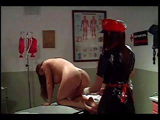 Lesbian Nurse Enema