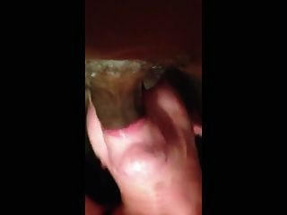 Black Man Throat Fucks A White Woman
