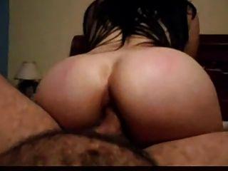 Stunning Mexican Ass Rides It