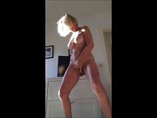 Hot Bodied Mature Standing Orgasm