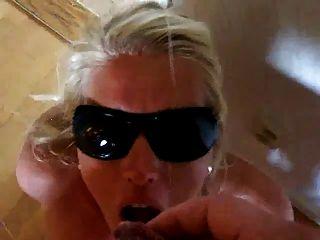 Super Hot Amateur Swedish Girl Takes Facial!
