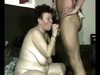 Slut Granny Hard Fucked By Younger Man. Amateur