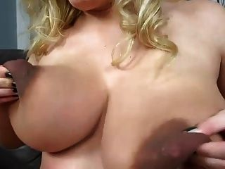 Adorable pregnant blonde closeups and dildo fucking 4