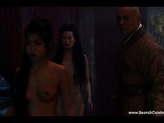 Olivia Cheng Nude - Marco Polo S01e03-4