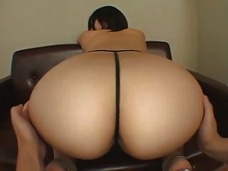 Girl white fat tube ass