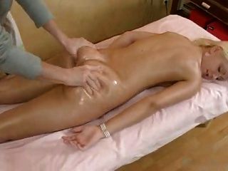watching wife get massage