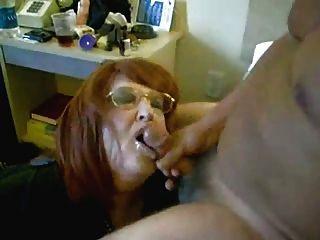 Hot grannies sucking and fucking