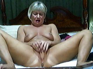 Sexy mature teacher spanking students