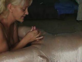 handjob post orgasm