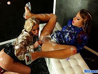 lesbian bukake porn