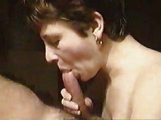 Mature cocksucking tube