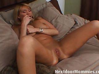 Mature female masterbation