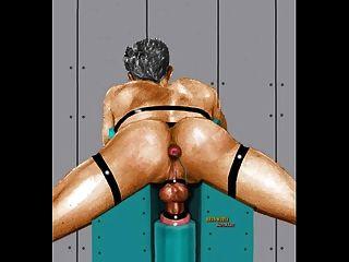 Wet pantyhose porn